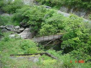 美々地谷川の橋